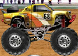 Jump Racer Monster Truck