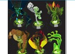 Alien Force Puzzle Ben 10