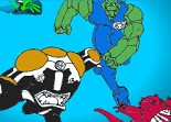 Ben 10 Force Alien Coloring