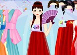 Korean Girl Dress Up