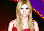 Celebrity Kesha Sebert Dress Up