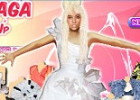 Celebrity Lady Gaga Dress Up