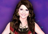 Selena Gomez at Disney World Celebrity Dress Up