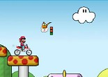 Super Mario Cross Dirt Bike