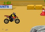 Acrobatic Rider Dirt Bike