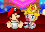 Mario Lost in Peach