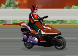 Power Rangers Moto Race 3D Motorcycle
