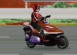 Power Rangers Moto Race Bike Racing