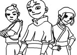 Avatar the Last Airbender Online Coloring Page