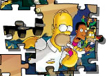 Simpson Camping Puzzle
