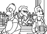 Simpson Online Coloring Page