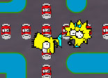 Pacman the Simpsons