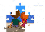 Animated Puzzle Girls