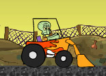 Tractor Squidward