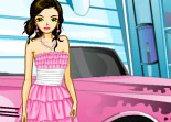 Pink Car for Girls