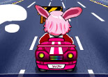 Yuju Pink Car for Girls