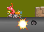 Jumpy Ride Motorcycle for Girls