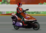 Moto Race Power Rangers