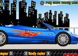 Car Tune and Race Convertible Supercar
