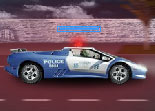 Turbo Mayhem Police Car
