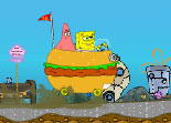 Missing Recipe Spongebob Car for Girls