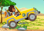 Diego's African Off Road Rescue Car