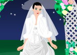 Night Bride Dress Up Wedding
