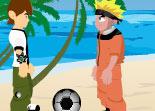 Beach Ball Game Naruto