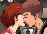 Kiss in the Taxi