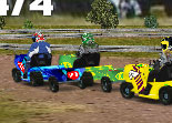 Lawnmower Racing 3D Tractor