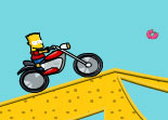Bart Simpson Bike Fun