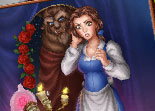 Princess Belle Online Coloring Game