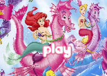 Princess Ariel Hexagon Puzzle