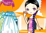 Dress Up Chibi Girl