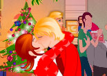 Xmas Love Kissing