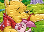 Puzzle with Winnie the Pooh