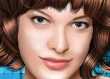 Sweet Milla Jovovich Makeover