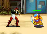 KoF Lori Fighting