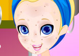 Polly Pocket Facial Makeover