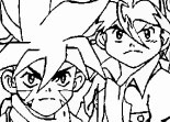 Beyblade Team Coloring