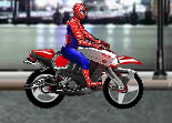 Spiderman's Biker