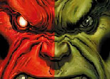 Red VS Green Hulk Slider