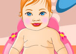 Chubby Girl Baby Dress-up