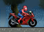 The Spider-Man Spiderbike Racing