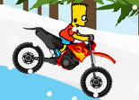 Bart Simpson Snow Ride 2