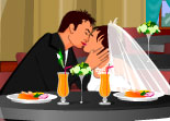 Dining Table Kissing