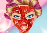 Strawberry Love Facial Makeover