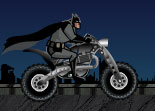 Batman Moto Stunts
